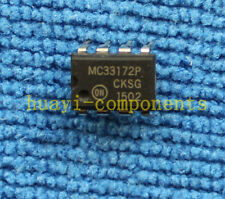 5pcs MC33172P Low Power, Single Supply Operational Amplifiers DIP-8
