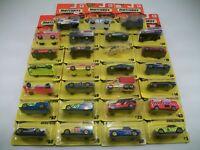 1993 Matchbox Get In The Fast Lane Lot of 27 Cars NIP