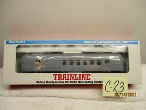 C23 Walthers Trainline HO 931-766 Heavyweight RPO Undecorated