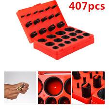Universal 407pcs O-Ring Assortment Set Seal Gasket Rubber ORing Kit with Box