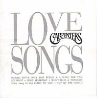 Carpenters Love Songs CD NEW SEALED Goodbye To Love/Top Of The World/Solitaire+