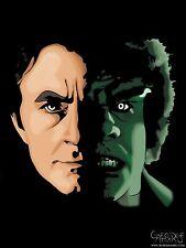 The Monster Within - 11x17 Art Print - Incredible Hulk - Avengers - Marvel - TV