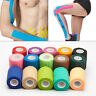 Self-Adhesive Elastic Bandage Gauze Tape Medical Finger Muscles Ankle Wrap 4.5m