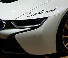 Aufkleber Sticker JDM Sports mind BMW OPEL AUDI VW MERCEDES Performance Tuning