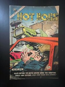 Hot Rods and Racing Cars #12 Capitol Series 1953 Golden Age Comic Book
