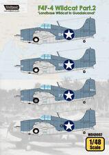 Wolfpack WD48002, F4F-4 Wildcat Part.1 'Landbase Wildcat in Guadalca, SCALE 1/48