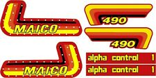 MAICO Alpha one Alpha 1 1982 graphic/decal kit. 250 400 490