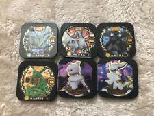 Pokemon Tretta Legend Zekrom Reshiram Kyurem Rayquaza Trading Card chip 6 set