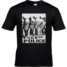 FxCK THE POLICE T-SHIRT S-3XL Punk Skinhead AC/AB FCK CPS No Justice No Peace