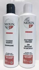Nioxin 4 Cleanser Shampoo and Scalp Therapy Conditioner Set 300mL (10.1 oz)