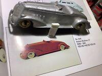 "1936 Tootsie Toy Auburn Roadster 6"" Long"