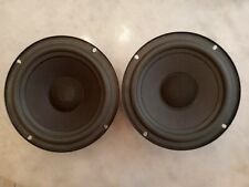 """Pair Advent 6.5"""" woofers, new foam surround! 8 ohm vintage laureate Replacement"""