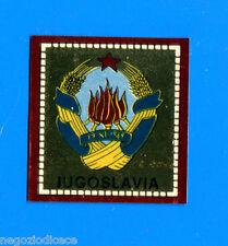 CALCIATORI PANINI 1969-70 - Figurina-Sticker - JUGOSLAVIA SCUDETTO -Rec