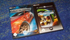 Need for Speed Underground 1 + 2 en el set en DVD original funda pc alemán