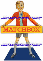Matchbox Toys 1960's Shop Display Sign A3 Large Size Poster Advert Leaflet