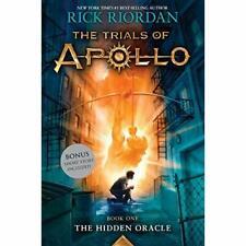 Trials of Apollo, the Book One the Hidden Oracle (Tria - Paperback NEW Riordan,