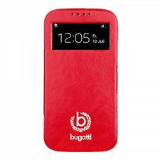 Style For mobile Bugatti Ultrathin Book Case Geneva für Samsung Galaxy S4 Red