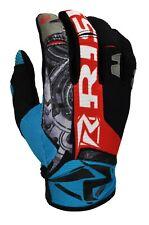 Risk Racing Salute Gloves motocross enduro Machine Blue X Large