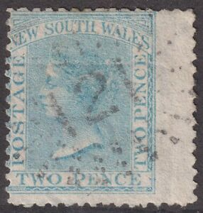 NSW numeral postmark 121(2) of GUYONG [rated 4R] Type 2R20