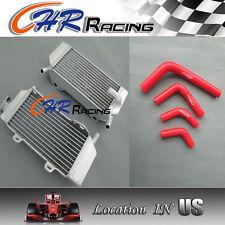 aluminum radiator and hose FOR HONDA CRF250R/CRF250X 2004-2009 05 06 07 08 09