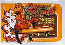 Rockin Jelly Bean Bape Gallery Japan 2004 Art Show Silkscreen Poster Rocket Mint