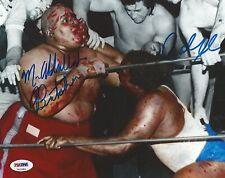Abdullah the Butcher Carlos Colon WWE Signed 8x10 Photo PSA/DNA COA WWC Picture
