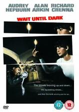 Wait Until Dark AUDREY HEPBURN ALAN ARKIN RARE (UK RELEASE) DVD
