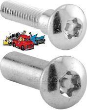 Set of 4 Stainless steel shoulder 10-24 thread screw/ nut combination truss head