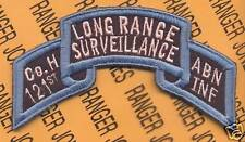 Co H 121 LRS Airborne Ranger Inf GAARNG scroll patch B