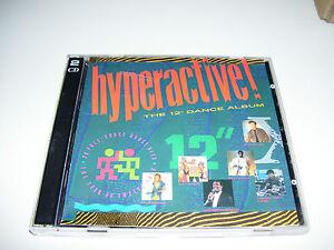 "Hypercactive - The 12"" Dance Album * RARE EDITION 2CD UK TELSTAR 1988 *"