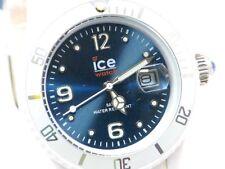 Ice Watch Uhr Unisex Armbanduhr in Weiss Krone mit Blau-Quarz