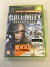 Microsoft Original Xbox Call of Duty Finest Hour | Pago contra reembolso