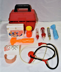 Doctor Bag with Medical Kit Playset and Accessories (Some are Fisher Price)