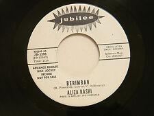 Aliza Kashi 45 BERIMBAU / A MAN AND A WOMAN ~ Jubilee VG++ latin jazz