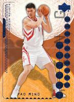 Yao Ming 2003-04 Upper Deck Triple Dimensions #27 Houston Rockets Card