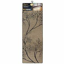 JVL Elegance Range Branches Indoor Machine Washable Runner Mat, Polyester,