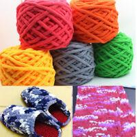 Soft Fleece Yummy Super Soft Knitting Yarn Chunky Baby Woolen All Colour 100g HA