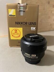 Nikon Nikkor Lens Af-s Dx 35mm F/1.8