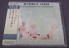 "STEELY DAN ""COUNTDOWN TO ECSTASY"" JAPAN SHM-SACD DSD 2016 JEWEL CASE *SEALED*"