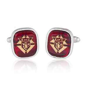 KNIGHTS OF COLUMBUS CUFFLINKS MANUFACTURERS DIRECT PRICING!!!!!!!!