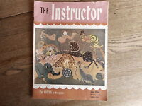 The Instructor Magazine June 1956 The Circus by Mervin Jules Vintage Teacher Mag