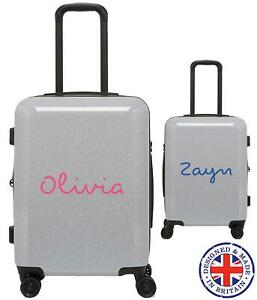 Personalised Name Love TV Show Island Suitcase Sticker Custom Decal Holiday