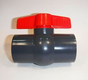 40 mm Ball Valve fits 40 mm true OD pipe only, will NOT fit waste pipe