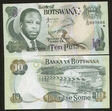 Botswana 10 Pula 2007 Pick 26 UNC #887666