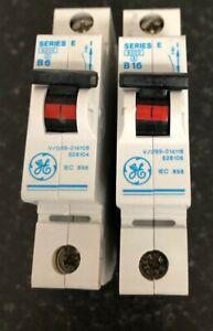 GE SECTOR STEEPLE SERIES E 6000 MCB B6, B16, CIRCUIT BREAKER