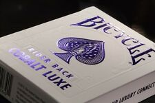 1 DECK Bicycle Metalluxe Cobalt Luxe (blue) playing cards FREE USA SHIP!