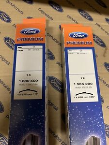 Ford Focus Genuine Parts  2004-2011 Aero Flat Blade Wipers Brand New 1680509