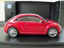 SCHUCO - 2013 / 2014 / 2015 / 2016 VOLKSWAGEN - THE BEETLE (RED) - 1/43 DIECAST