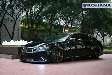 20x9 +35 20x10 +40 Rohana RC22 5x114 Matte Graphite Wheels Fit Lexus GS350 2014