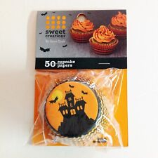 Halloween Sweet Creations Cupcake Papers Haunted House - Lot of 2 Pkgs, 50 Each